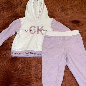 Calvin Klein Baby Girl Matching Set!